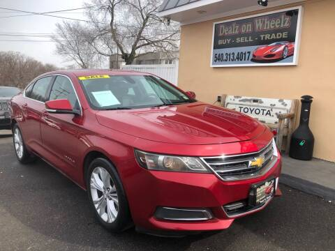 2014 Chevrolet Impala for sale at DEALZ ON WHEELZ in Winchester VA