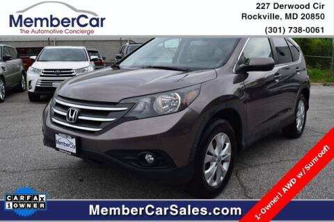 2012 Honda CR-V for sale at MemberCar in Rockville MD