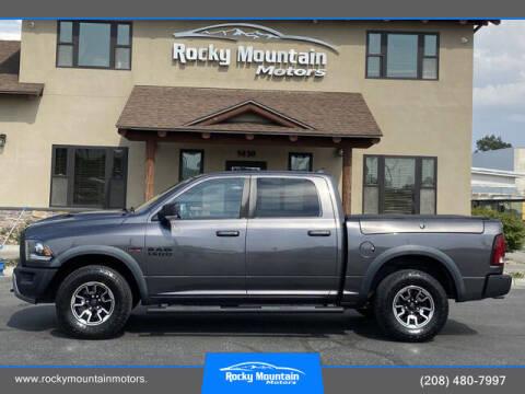2016 RAM Ram Pickup 1500 for sale at Rocky Mountain Motors in Idaho Falls ID