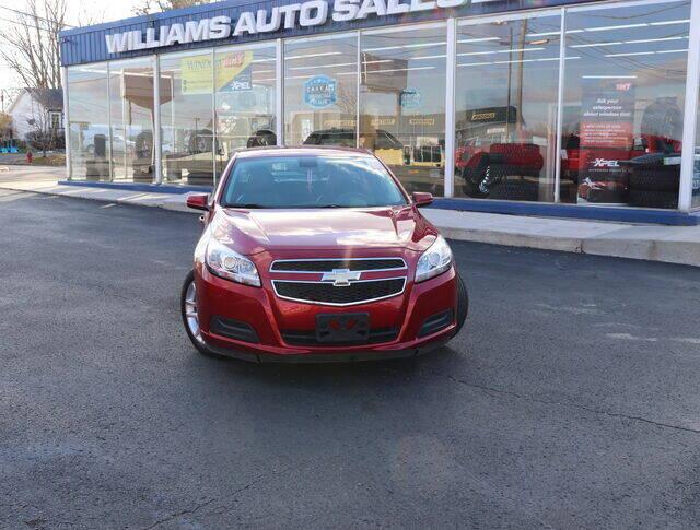 2013 Chevrolet Malibu for sale at Williams Auto Sales, LLC in Cookeville TN