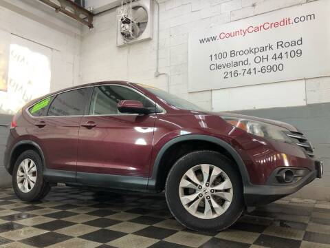 2013 Honda CR-V for sale at County Car Credit in Cleveland OH