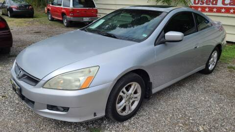 2006 Honda Accord for sale at Jackson Motors Used Cars in San Antonio TX