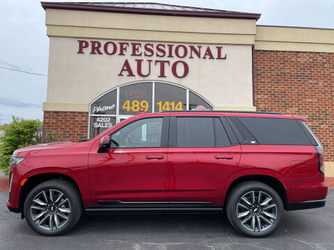 2021 Cadillac Escalade for sale at Professional Auto Sales & Service in Fort Wayne IN