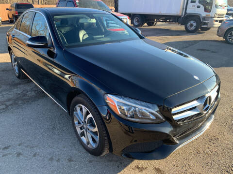 2015 Mercedes-Benz C-Class for sale at Ol Mac Motors in Topeka KS
