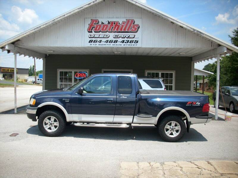 2002 Ford F-150 for sale at Foothills Used Cars LLC in Campobello SC