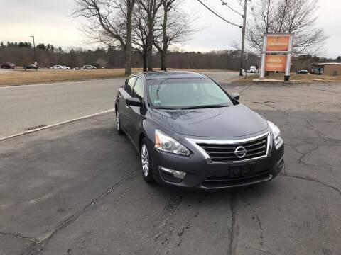 2013 Nissan Altima for sale at Lux Car Sales in South Easton MA