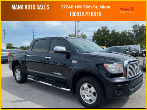 2012 Toyota Tundra for sale at MANA AUTO SALES in Miami FL