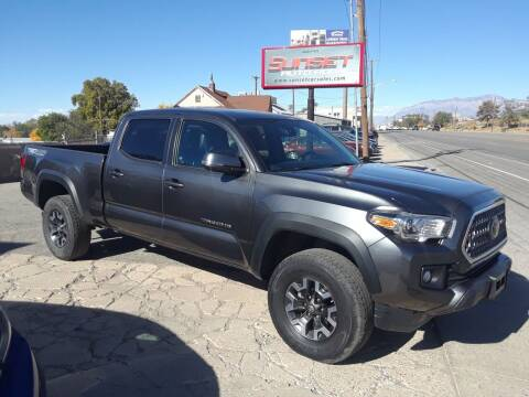 2019 Toyota Tacoma for sale at Sunset Auto Body in Sunset UT