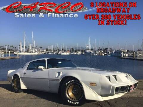 1981 Pontiac Firebird for sale at CARCO SALES & FINANCE #3 in Chula Vista CA