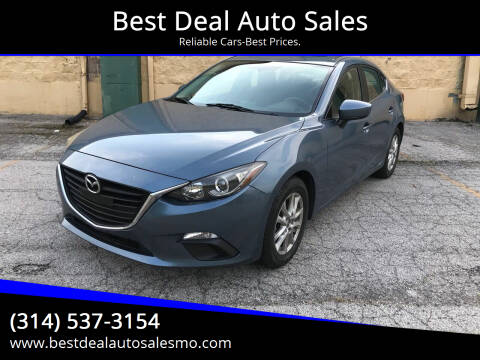 2014 Mazda MAZDA3 for sale at Best Deal Auto Sales in Saint Charles MO