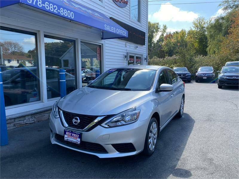 2016 Nissan Sentra for sale at Best Price Auto Sales in Methuen MA