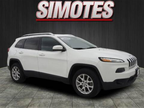 2017 Jeep Cherokee for sale at SIMOTES MOTORS in Minooka IL