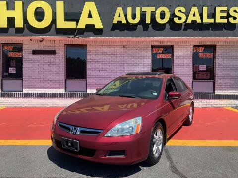 2006 Honda Accord for sale at HOLA AUTO SALES CHAMBLEE- BUY HERE PAY HERE - in Atlanta GA
