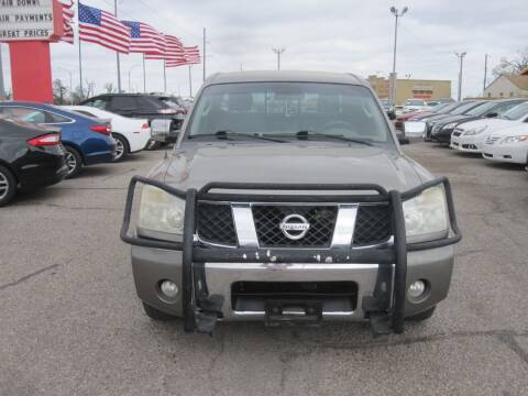 2007 Nissan Titan for sale at T & D Motor Company in Bethany OK