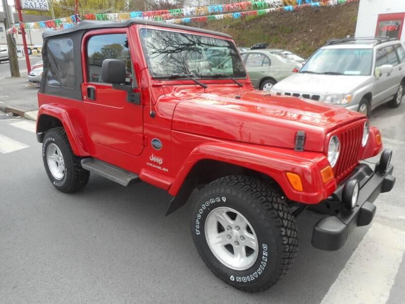2005 Jeep Wrangler for sale at Ricciardi Auto Sales in Waterbury CT