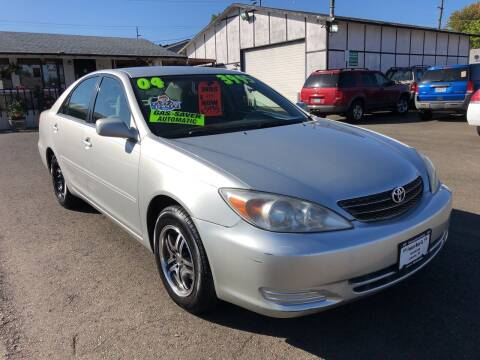 2004 Toyota Camry for sale at Freeborn Motors in Lafayette, OR