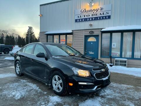 2016 Chevrolet Cruze Limited for sale at Danny's Auto Deals in Grafton WI