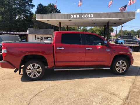 2017 Toyota Tundra for sale at BOB SMITH AUTO SALES in Mineola TX