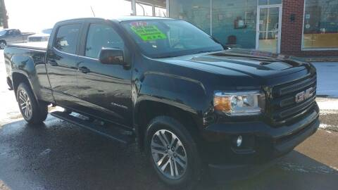 2016 GMC Canyon for sale at AutoBoss PRE-OWNED SALES in Saint Clairsville OH