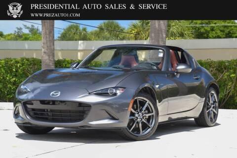 2019 Mazda MX-5 Miata RF for sale at Presidential Auto  Sales & Service in Delray Beach FL