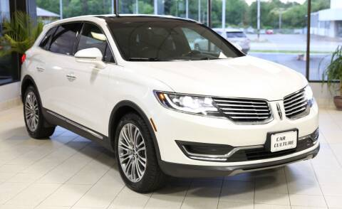2017 Lincoln MKX for sale at Car Culture in Warren OH
