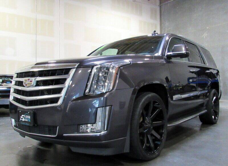 2015 Cadillac Escalade for sale at Platinum Motors in Portland OR