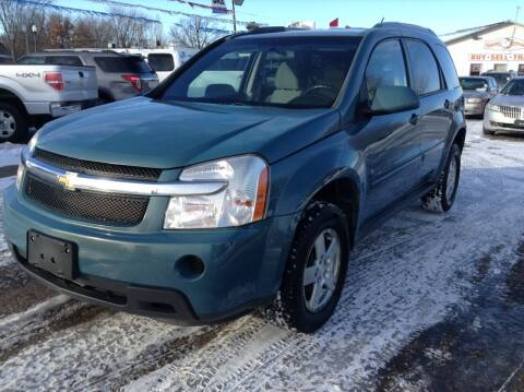2008 Chevrolet Equinox for sale at Steves Auto Sales in Cambridge MN