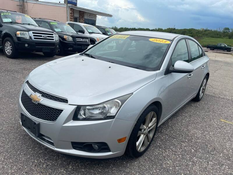 2013 Chevrolet Cruze for sale at River Motors in Portage WI