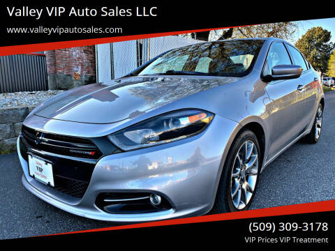2015 Dodge Dart for sale at Valley VIP Auto Sales LLC in Spokane Valley WA