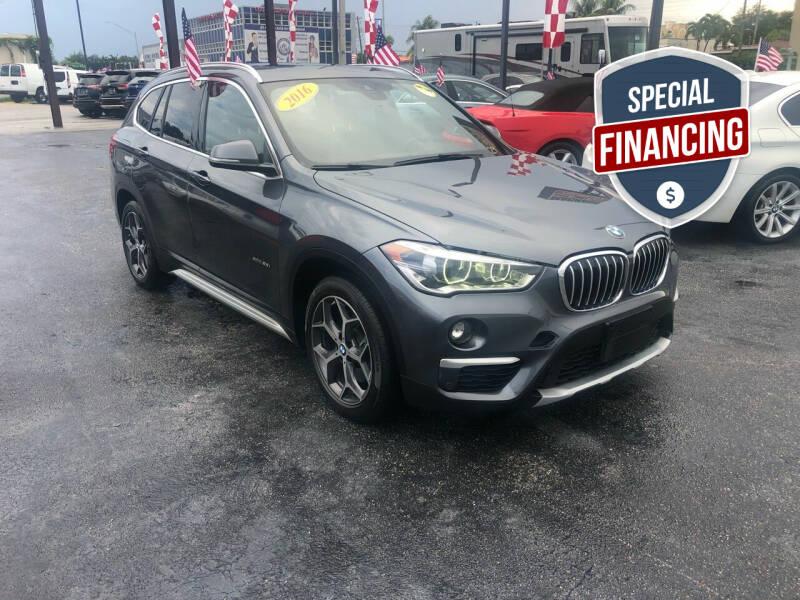 2016 BMW X1 for sale at MACHADO AUTO SALES in Miami FL