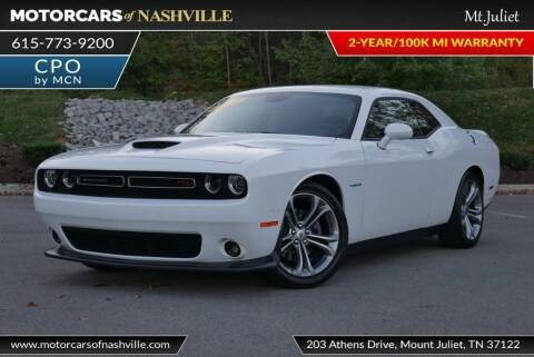 2020 Dodge Challenger for sale at MotorCars of Nashville in Mount Juliet TN