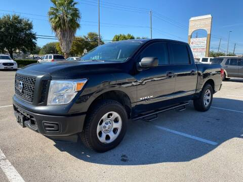 2017 Nissan Titan for sale at T.S. IMPORTS INC in Houston TX
