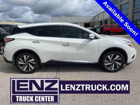 2016 Nissan Murano for sale at LENZ TRUCK CENTER in Fond Du Lac WI