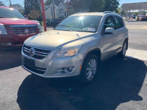 2011 Volkswagen Tiguan for sale at Park Avenue Auto Lot Inc in Linden NJ