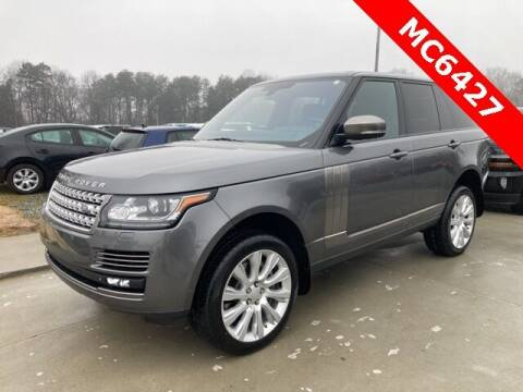 2015 Land Rover Range Rover for sale at Impex Auto Sales in Greensboro NC