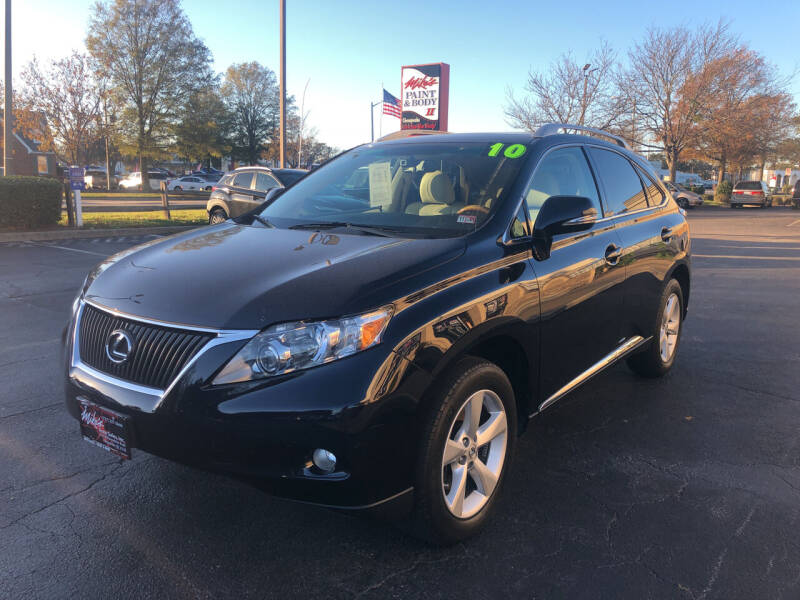 2010 Lexus RX 350 for sale at Mike's Auto Sales INC in Chesapeake VA