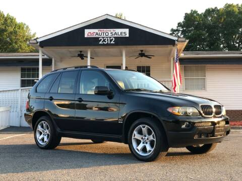 2005 BMW X5 for sale at CVC AUTO SALES in Durham NC