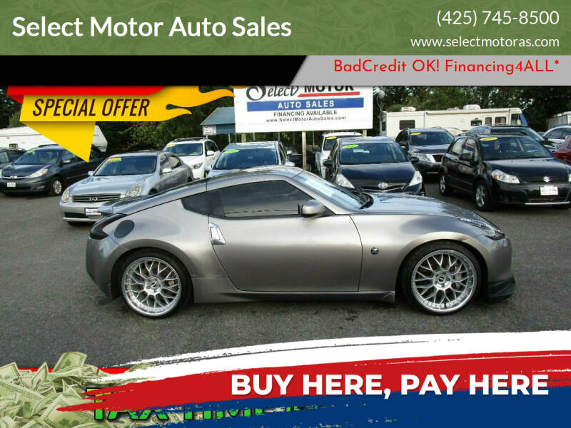 2010 Nissan 370Z for sale at Select Motor Auto Sales in Lynnwood WA