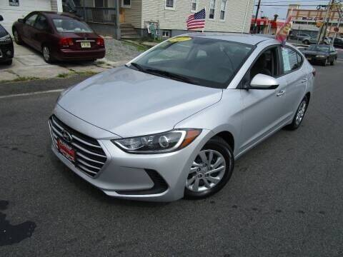 2017 Hyundai Elantra for sale at Dina Auto Sales in Paterson NJ