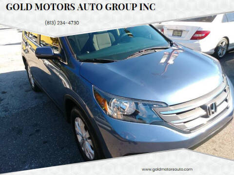 2013 Honda CR-V for sale at Gold Motors Auto Group Inc in Tampa FL