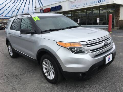 2014 Ford Explorer for sale at I-80 Auto Sales in Hazel Crest IL