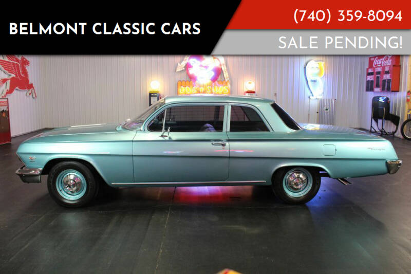 1962 Chevrolet Biscayne for sale at Belmont Classic Cars in Belmont OH