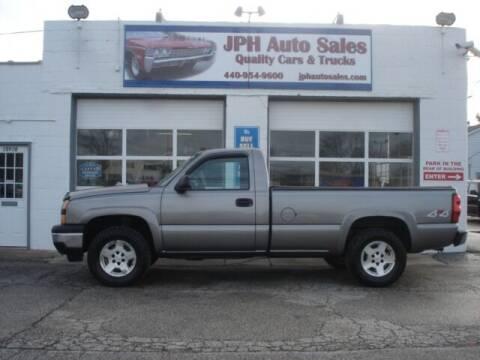 2006 Chevrolet Silverado 1500 for sale at JPH Auto Sales in Eastlake OH
