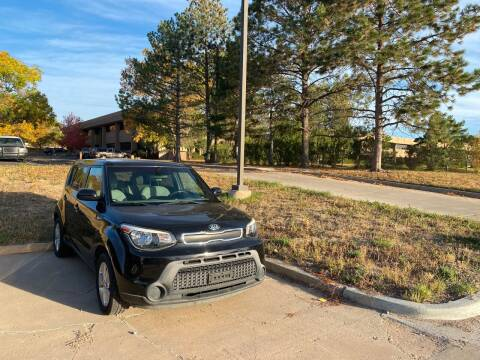 2014 Kia Soul for sale at QUEST MOTORS in Englewood CO