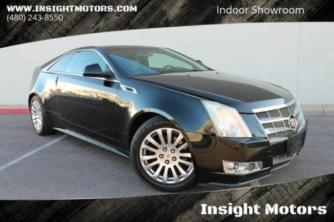 2011 Cadillac CTS for sale at Insight Motors in Tempe AZ