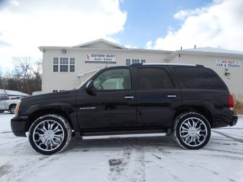 2005 Cadillac Escalade for sale at SOUTHERN SELECT AUTO SALES in Medina OH