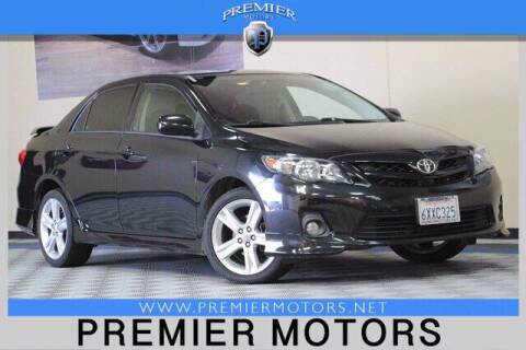 2013 Toyota Corolla for sale at Premier Motors in Hayward CA