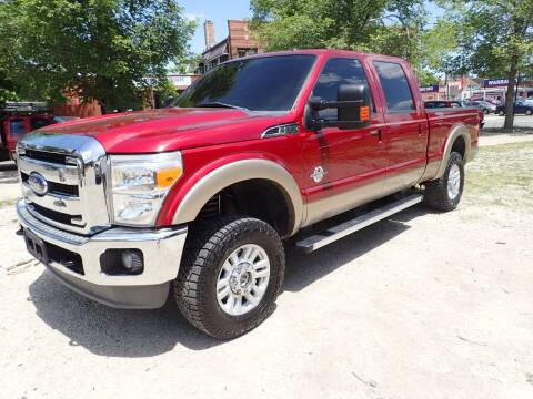 2013 Ford F-250 Super Duty for sale at OUTBACK AUTO SALES INC in Chicago IL