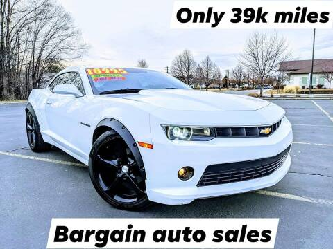 2015 Chevrolet Camaro for sale at Bargain Auto Sales LLC in Garden City ID