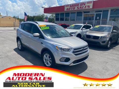 2017 Ford Escape for sale at Modern Auto Sales in Hollywood FL